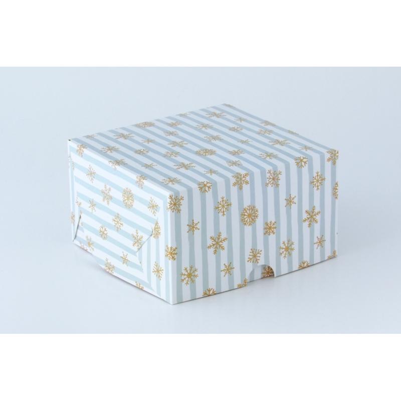 Коробка на 4 кекса без окна