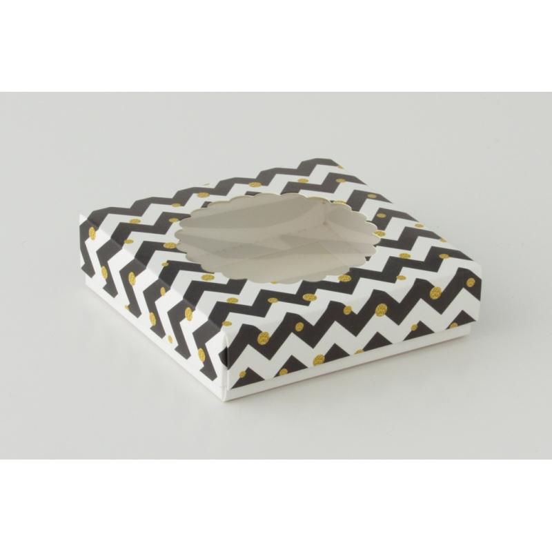 Коробка на 1 печенье со съемной крышкой