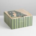 Коробка складная «Сияй», 15 × 15 × 7 см