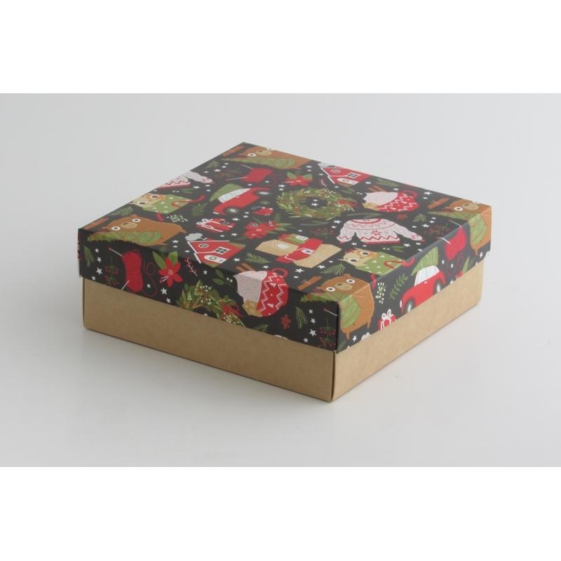Коробка для подарка 20*20*7