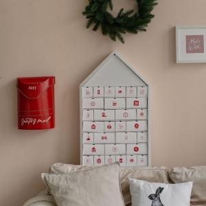 Адвент-календарь на 30 дней (белый)