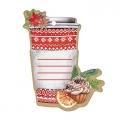 Шильдик декоративный на подарок «Тепла и Уюта», 8 × 10 см