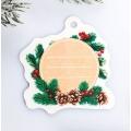 Шильдик на подарок Новый год «Снегирь», 6,5 ×6,3 см