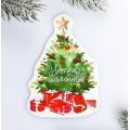 Шильдик на подарок Новый год «Уютных моментов», 6,0 ×9,5 см