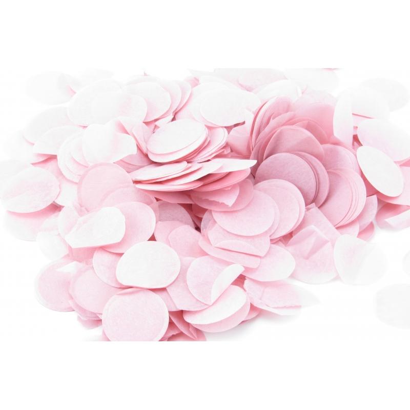 "Конфетти круглое ""светло-розовый"" (20 г)"