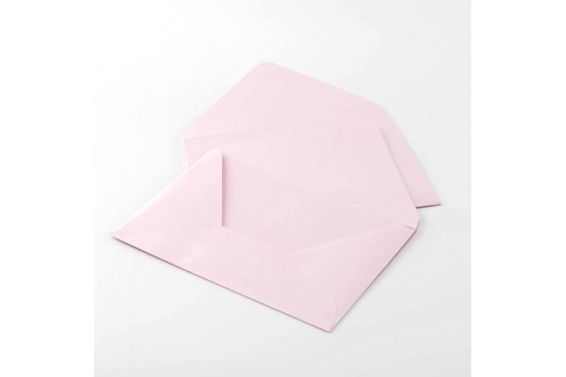 Конверт С6 перламутровый (нежно-розовый)