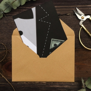 Открытка на акварельном картоне «С Днем Рождения», 11,8 х 16,4 см
