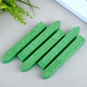 Сургуч для печати без фитиля  (зеленый) - 1 шт.