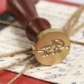 Сургучная печать «Для тебя!» (2,5 см) с деревянной ручкой