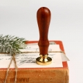 Сургучная печать «Снежинка», 2,5 х 9 см