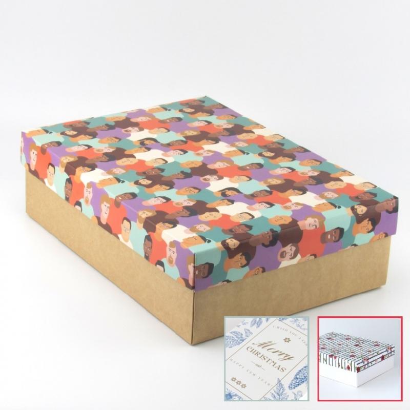 Коробка для подарков нитки для кожи 20