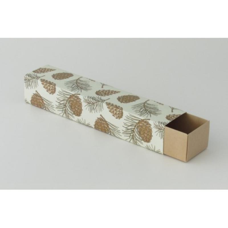 Сборка коробки для макарон большой