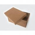 Коробка бурая средняя