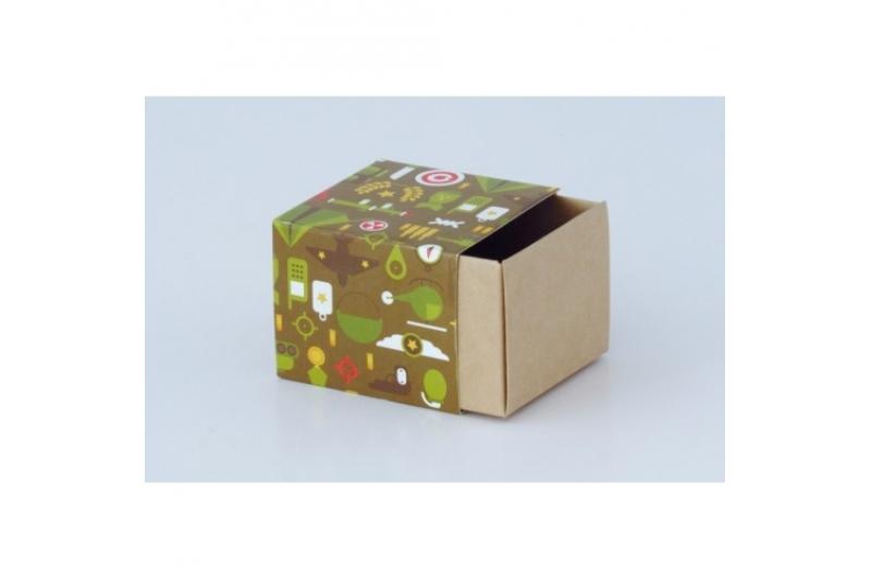 Сборка коробки для макарон маленькой